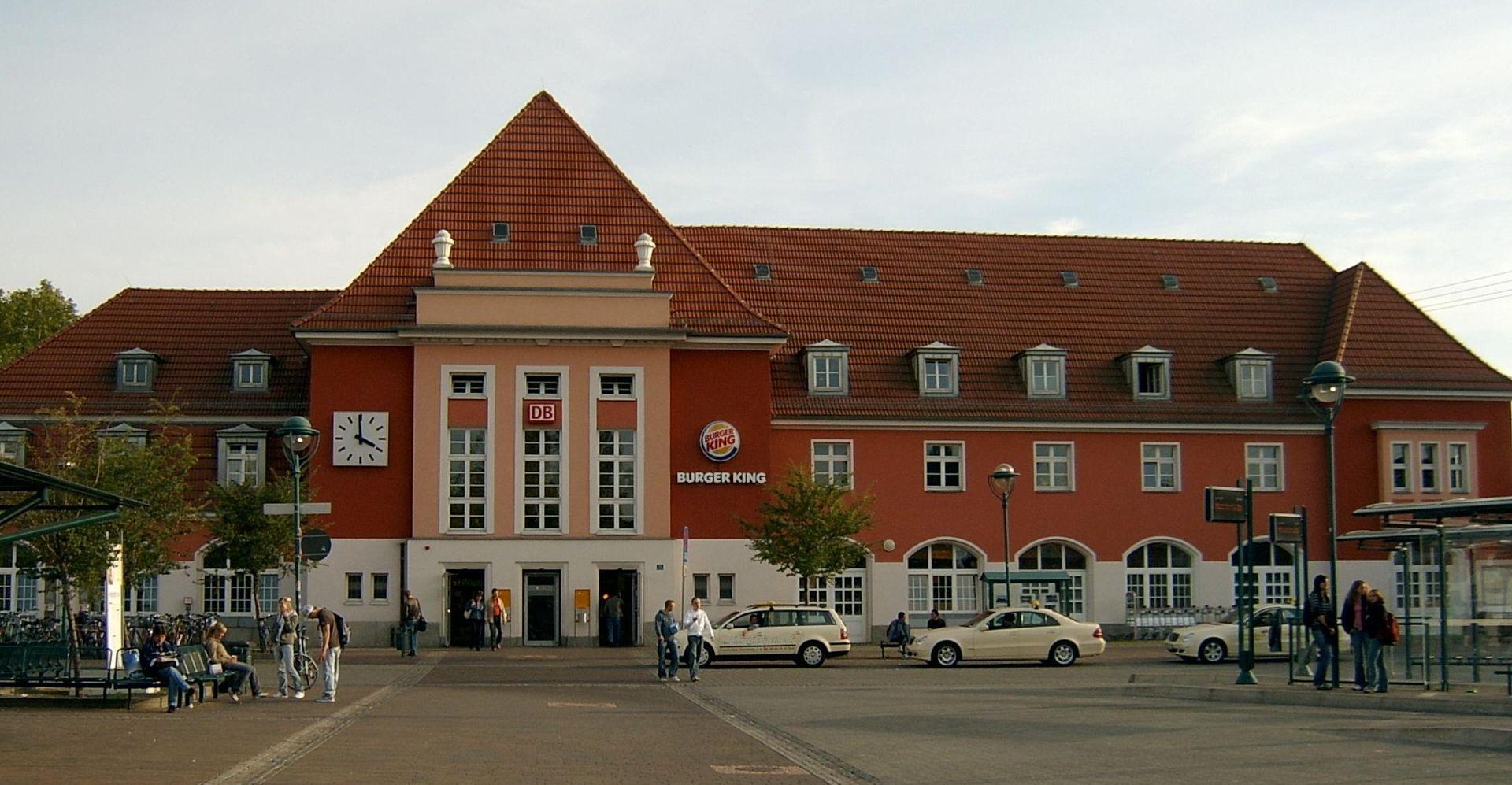 Bahnhof Frankfurt/Oder (Foto: Sicherlich, CC BY 3.0)