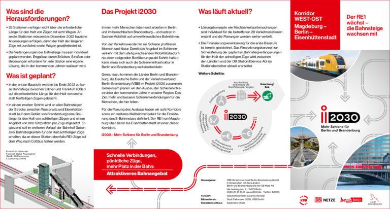 i2030 West-Ost_Flyer-vorschau