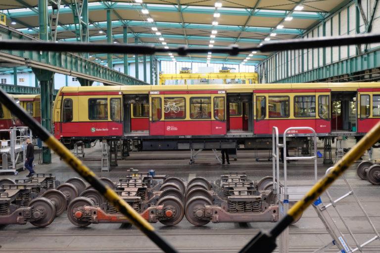 Sanierung und Modernisierung der Baureihe ET 481, Foto: Deutsche Bahn AG, Jens Wiesner
