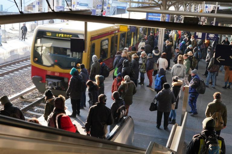 Verkehrsknoten Ostkreuz, Foto: Deutsche Bahn AG, Volker Emersleben