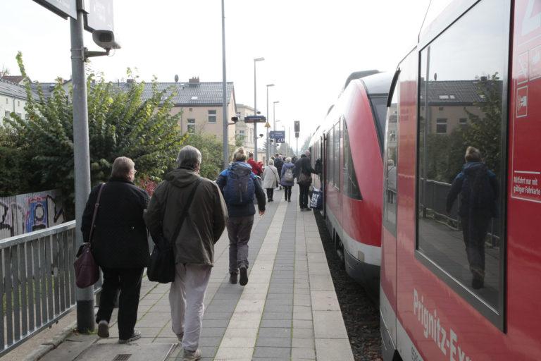Nord-West: Prignitz Express, Station Rheinsberger Tor, Foto VBB