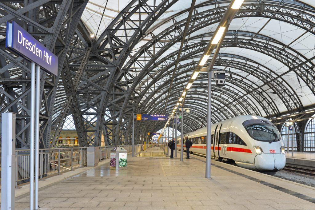 Dresden Hauptbahnhof (Foto: Deutsche Bahn AG)