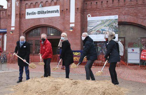 Spatenstich-Wilhelmsruh, Foto: NEB