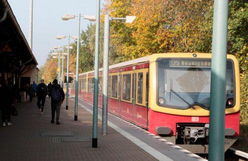 S-Bahn nach Hennigsdorf - zukünftig möglich bis nach Velten (Foto: VBB)