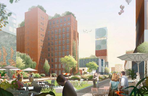 Siegerentwurf für Siemensstadt 2.0 (Foto: Siemens)